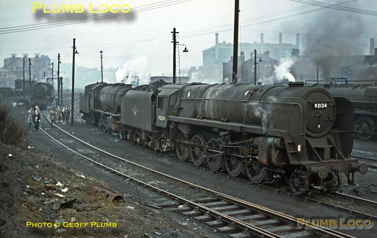 92124, Saltley Shed, 22nd November 1964