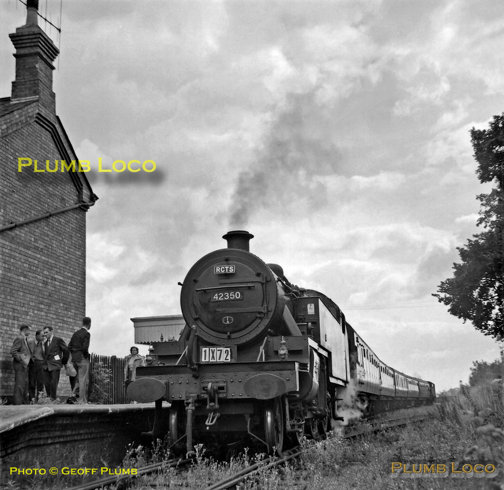 42350, Uppingham, 1X72, 25th August 1962