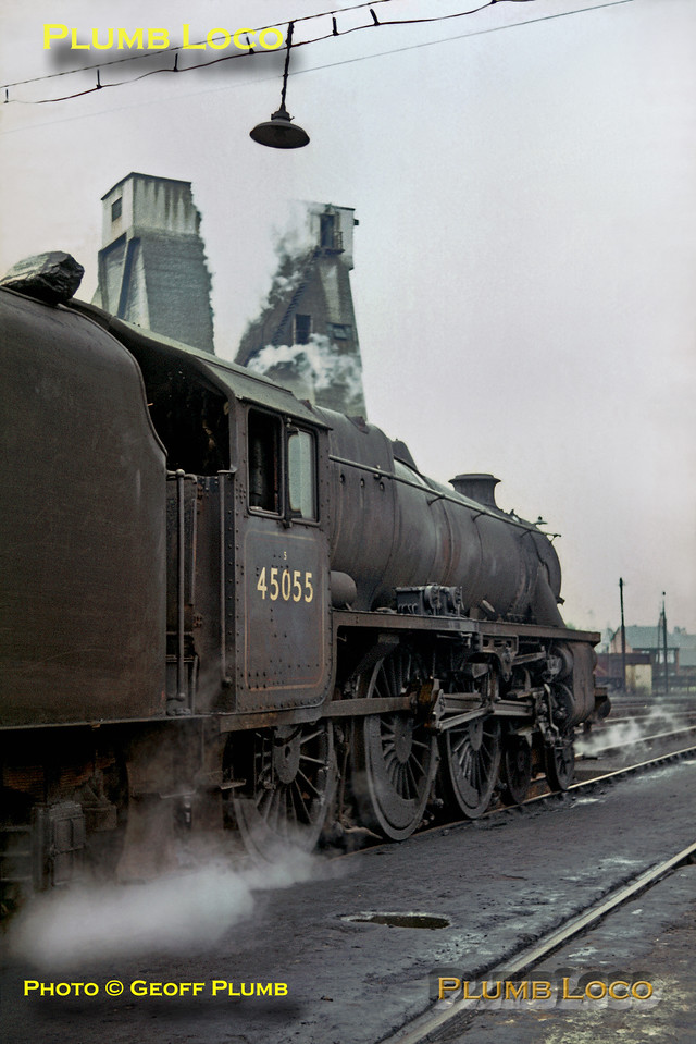 45055, Patricroft MPD, 3rd June 1968