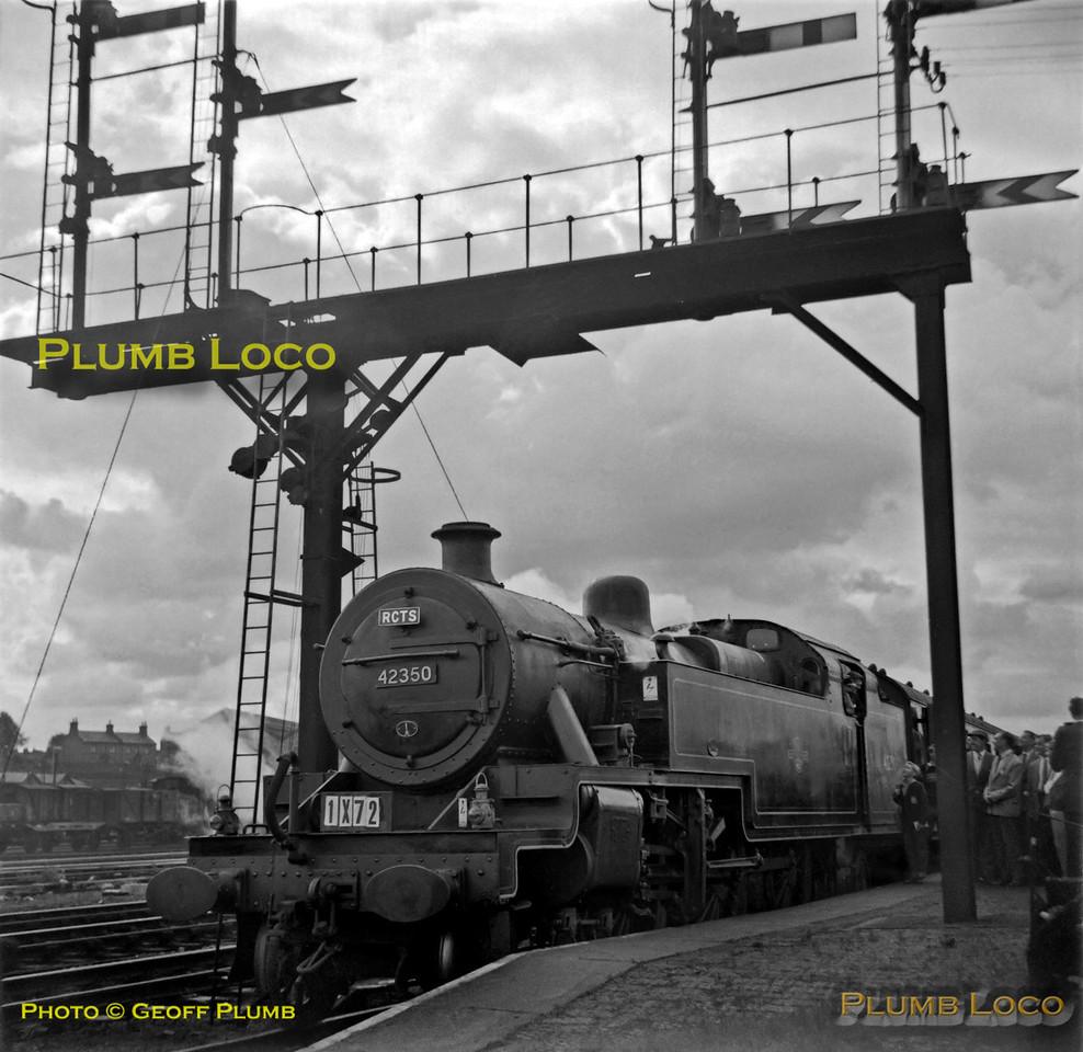 42350, Northampton Castle, 1X72, 25th August 1962