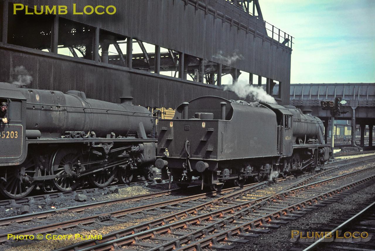 45203 & 48369, Manchester Victoria, 1st June 1968