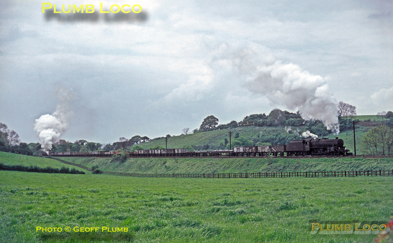 44981 & Pannier Tanks, Lickey Incline, 22nd May 1964