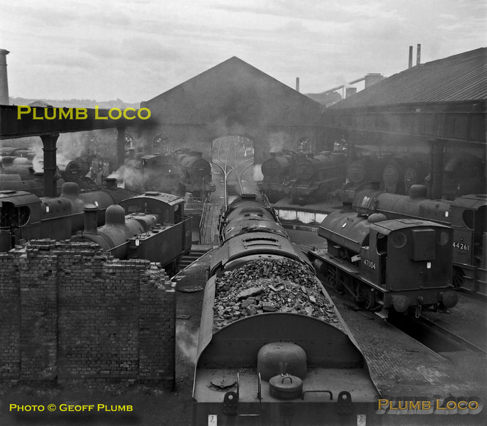 Hasland Shed, Chesterfield, 12th August 1962