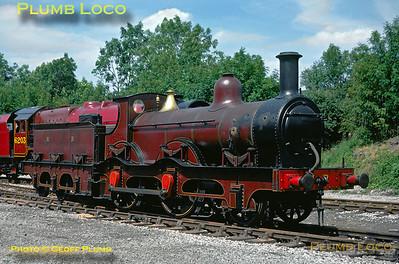 Midland Railway No. 158A, Butterley, June 1976
