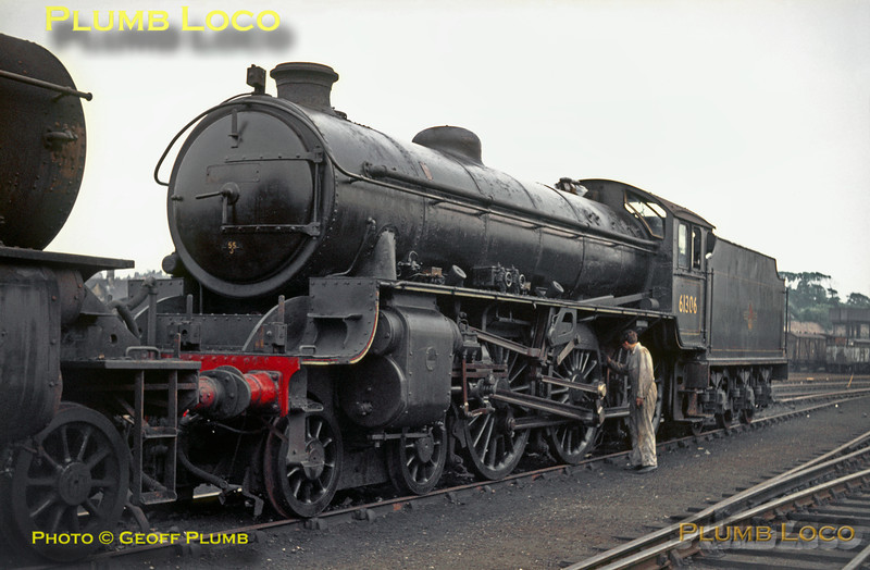 61306, Carnforth MPD, 2nd June 1968