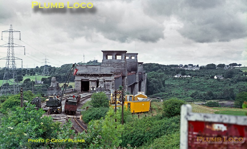 Britannia Bridge, Menai, July 1970