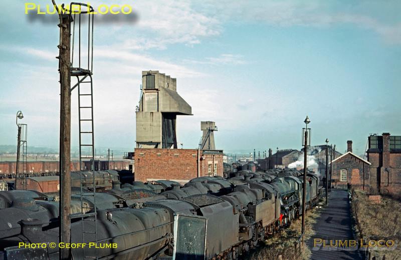 General View, Normanton MPD, 28th December 1967