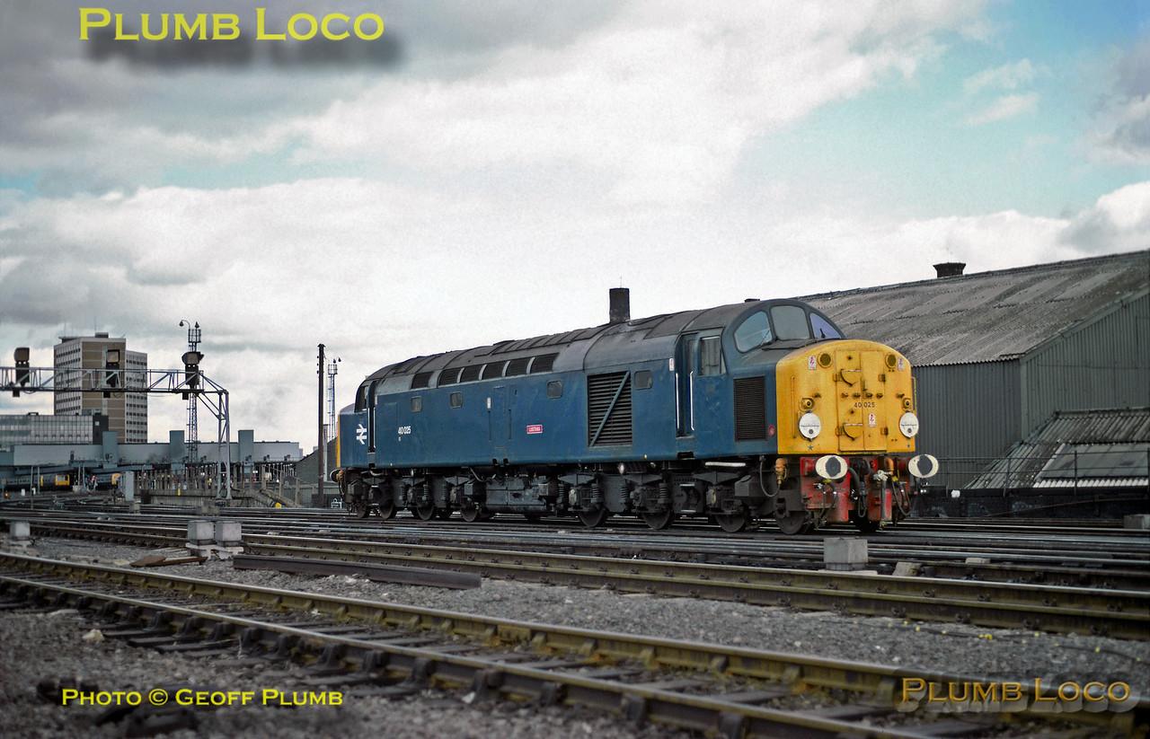 "40025 ""Lusitania"", Leeds City, 10th April 1982"