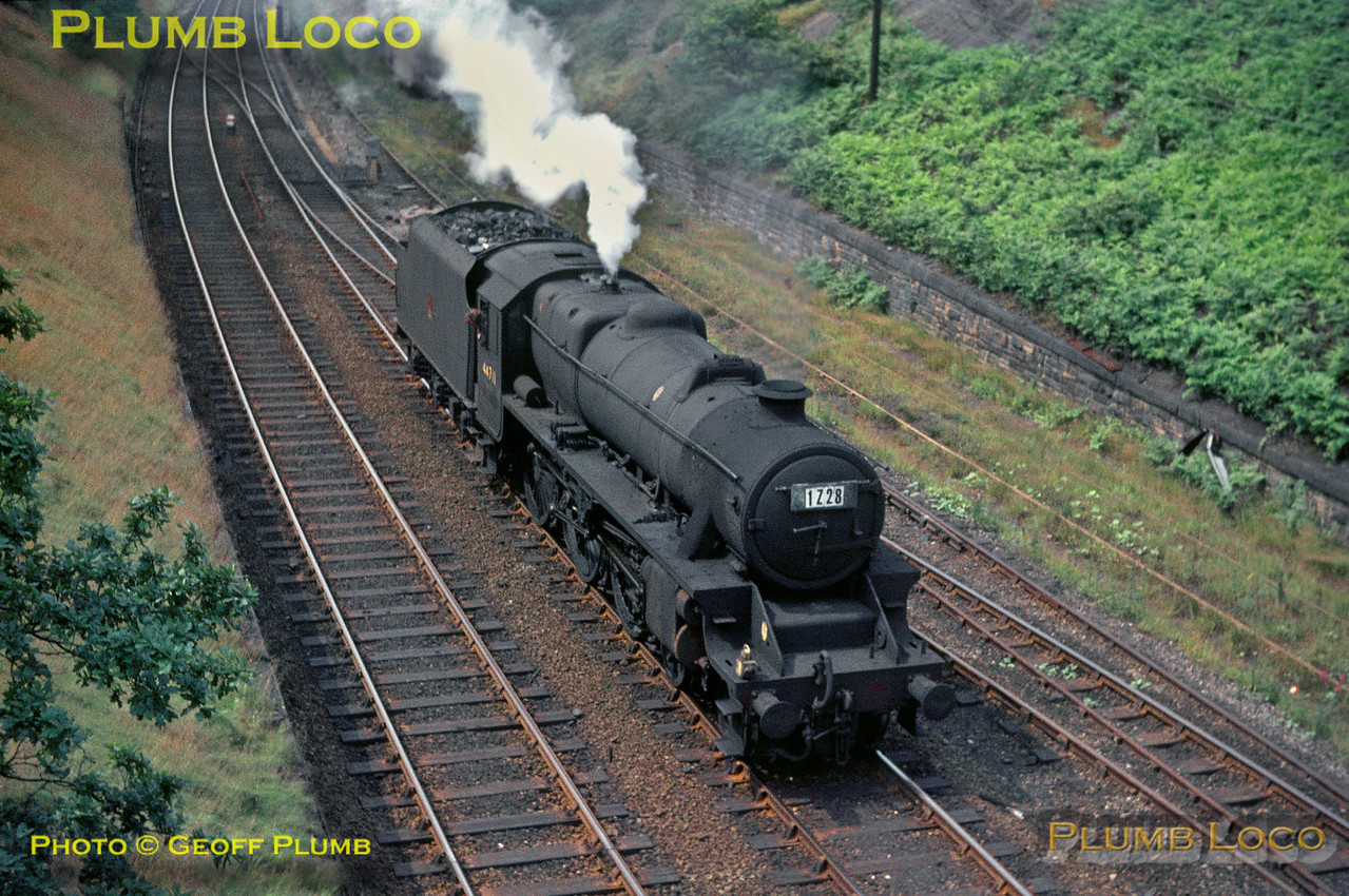 44711, Lockes Sidings, 16th July 1967