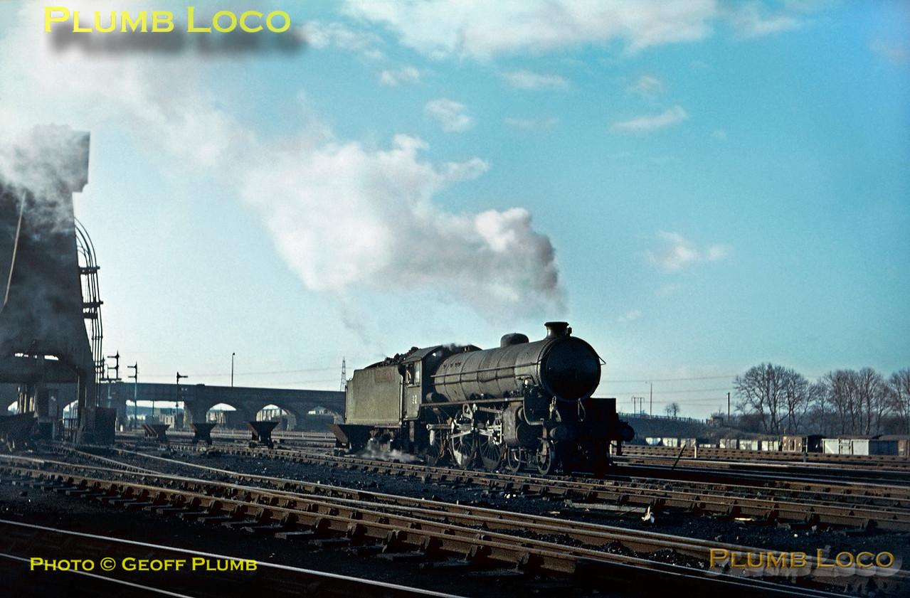61315, Normanton MPD, 28th December 1967