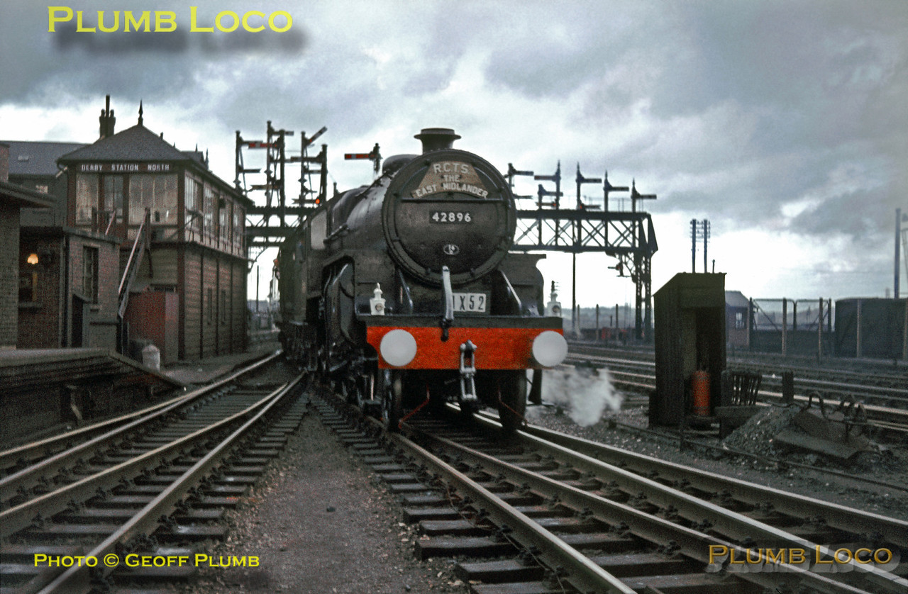 42896, Derby Station North, 13th October 1963