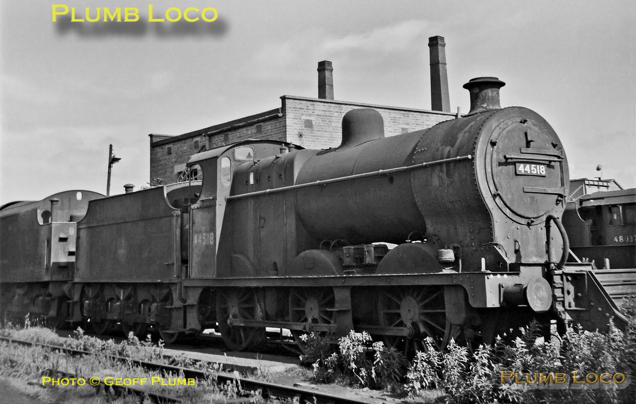 44518, Barrow Hill MPD, 12th August 1962
