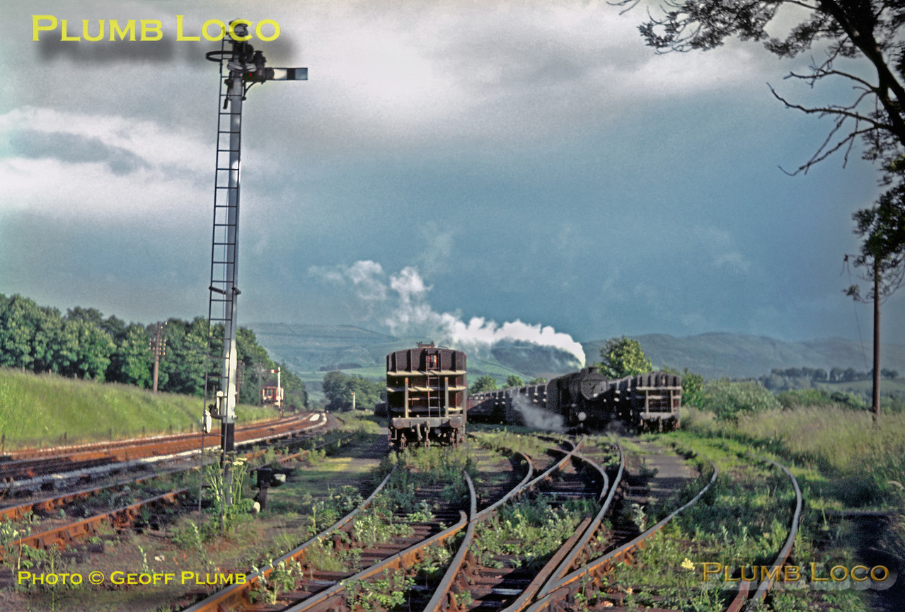 48731, Earles Sidings, 3rd July 1967