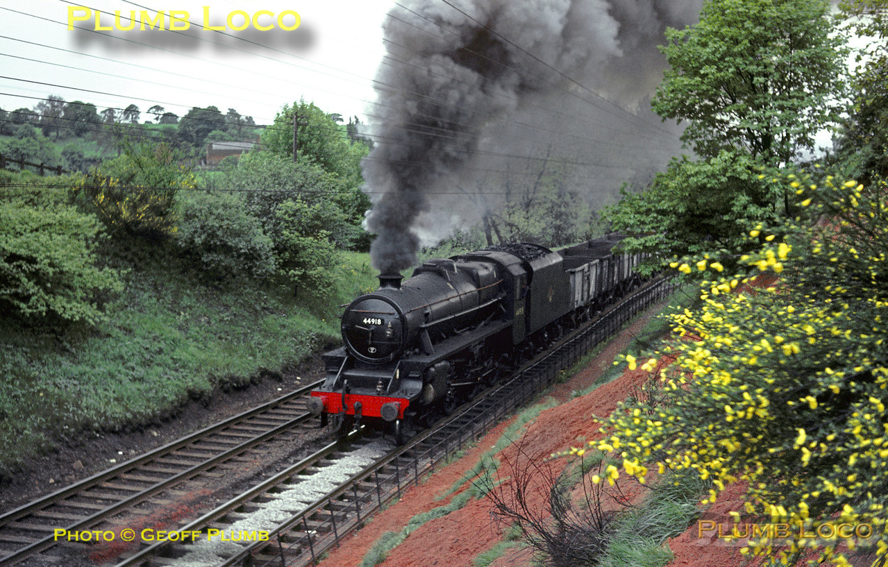 44918, Lickey Incline, 22nd May 1964