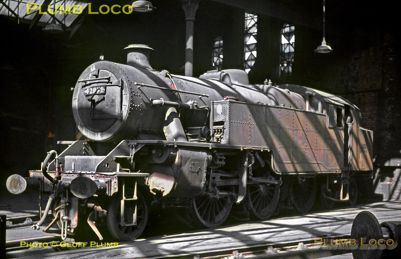 42072, Holbeck MPD, 2nd July 1967