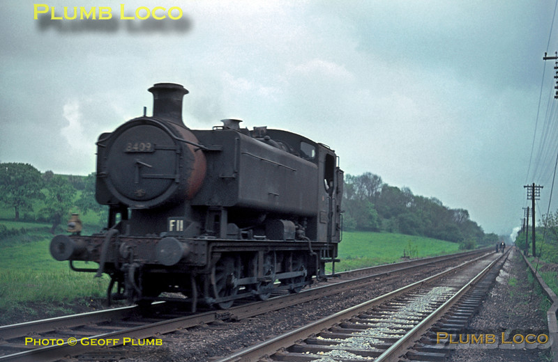8409, Lickey Incline, 22nd May 1964
