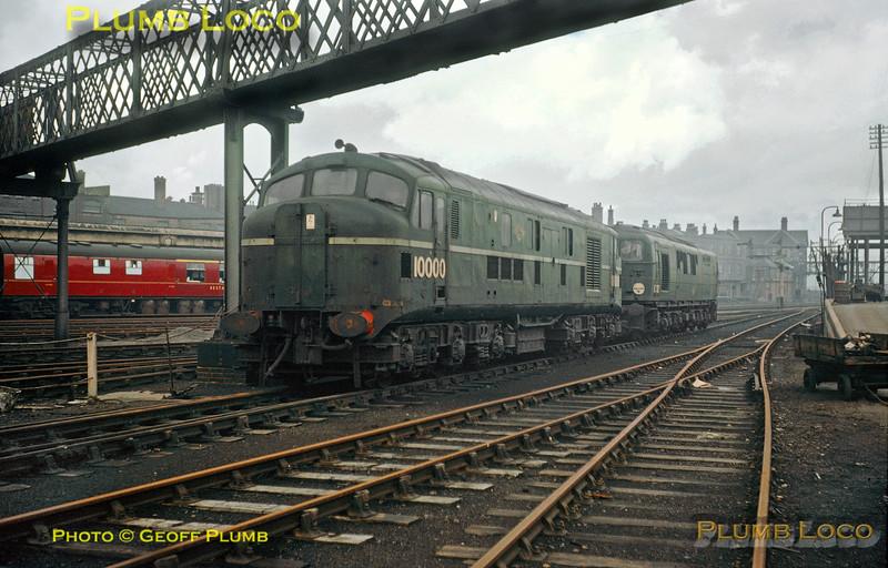 10000 & 10202, Derby, 23rd February 1963