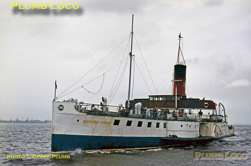 """PS """"Wingfield Castle"""", New Holland Pier, 31st August 1971"""