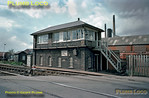 Castleford Gates Signal Box, North Eastern Railway, May 1976