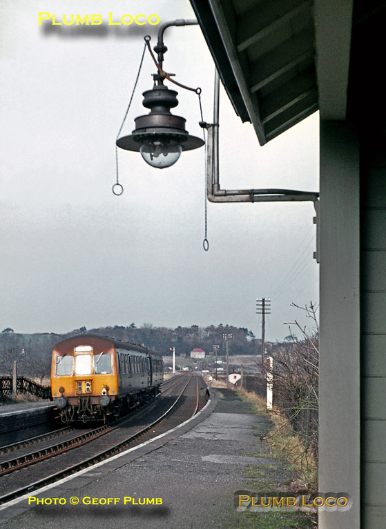 DMU, Ruswarp Station, March 1969