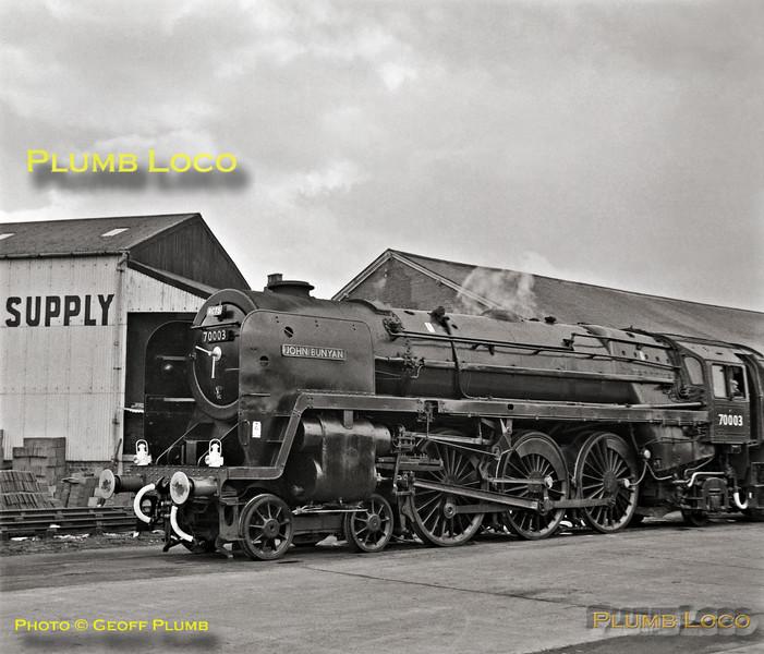70003, Norwich Victoria, 31st March 1962
