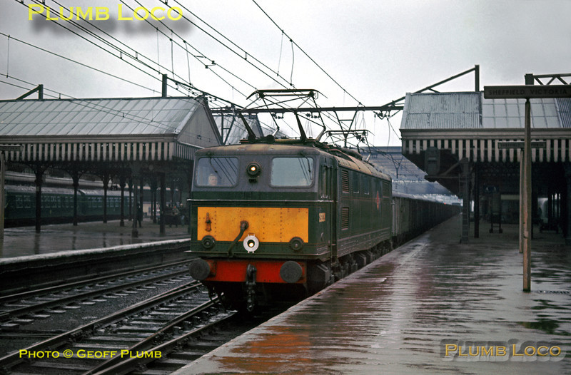 EM1, 26038, Sheffield Victoria, 17th February 1964