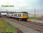 DMU, Castleford Gates, August 1980