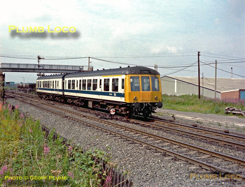 DMU, Castleford Gates, August 1980