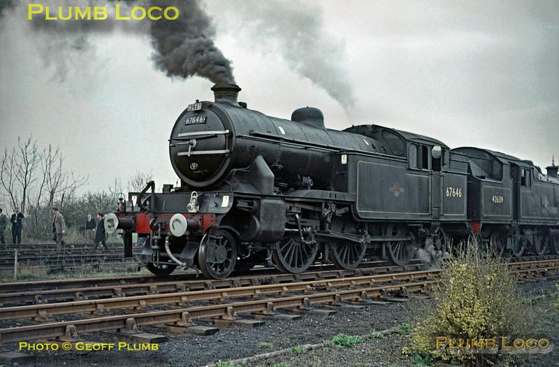 67646 & 42639, Barnard Castle, 25th April 1964