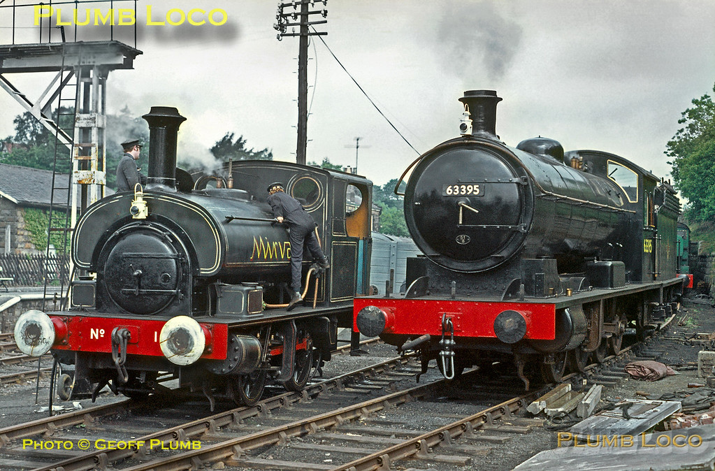 """""""Mirvale"""" & 63395, Goathland, 28th June 1970"""
