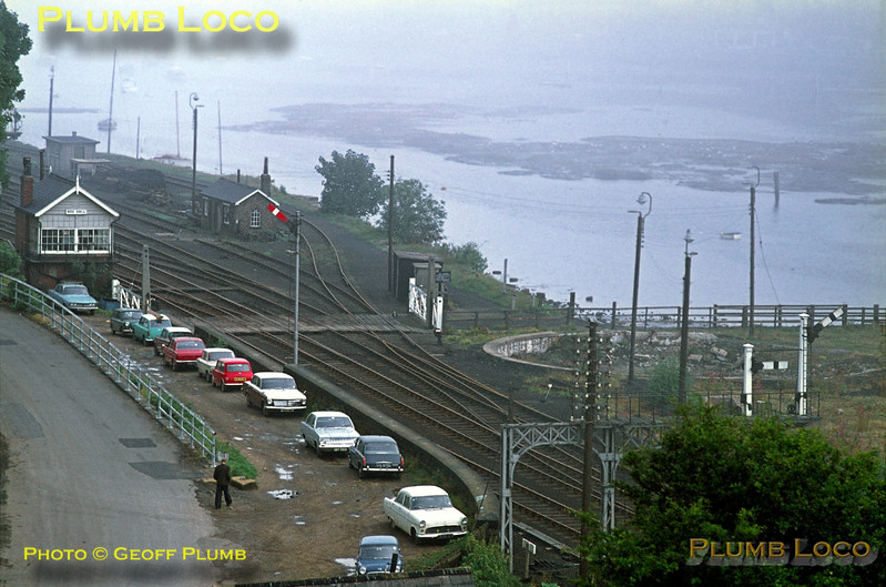 General View, Bog Hall Signal Box, Whitby, August 1970