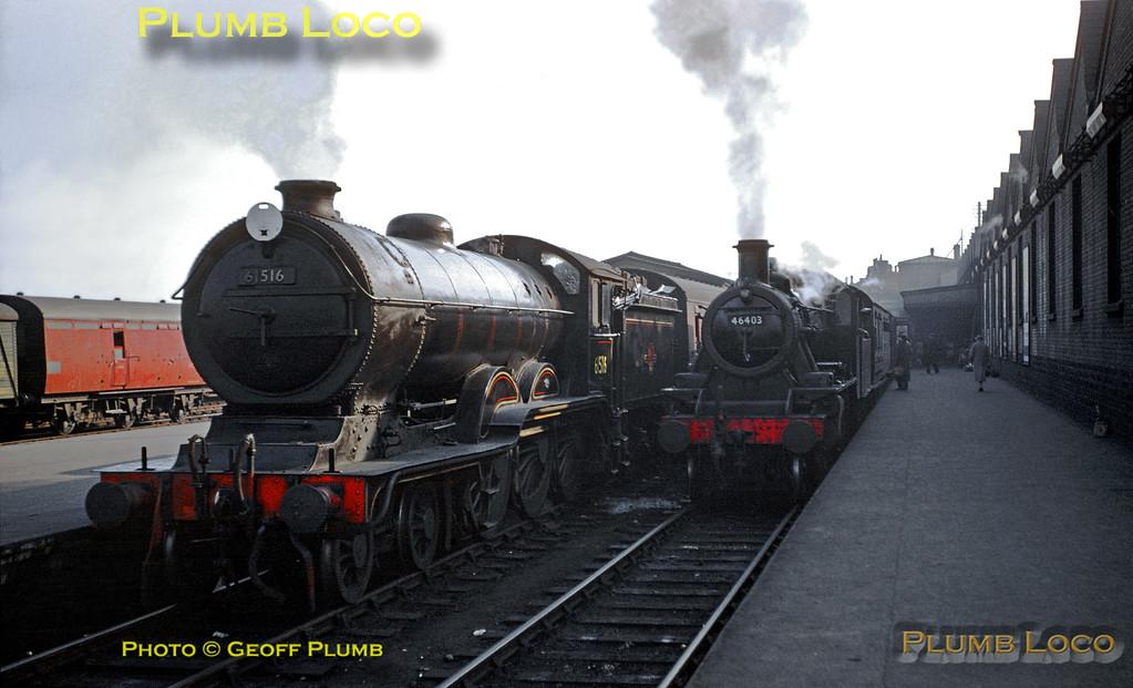 61516 & 46403, Cambridge, 23rd April 1958