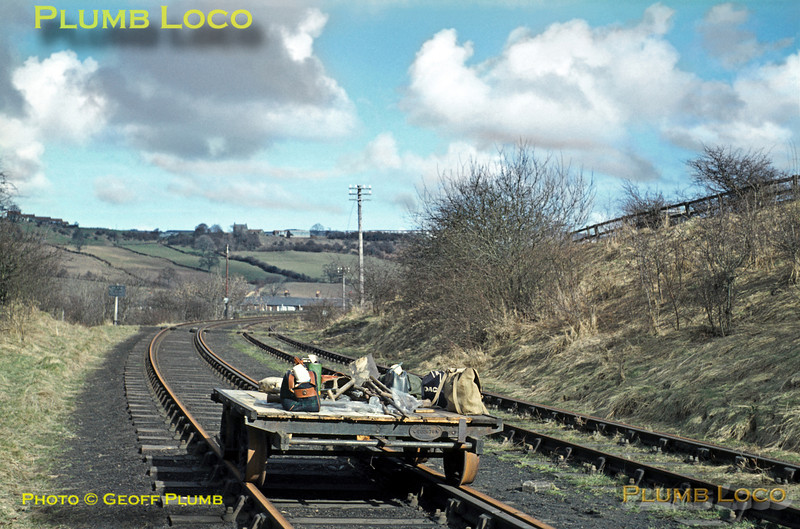 PW Trolley, Esk Valley, March 1969