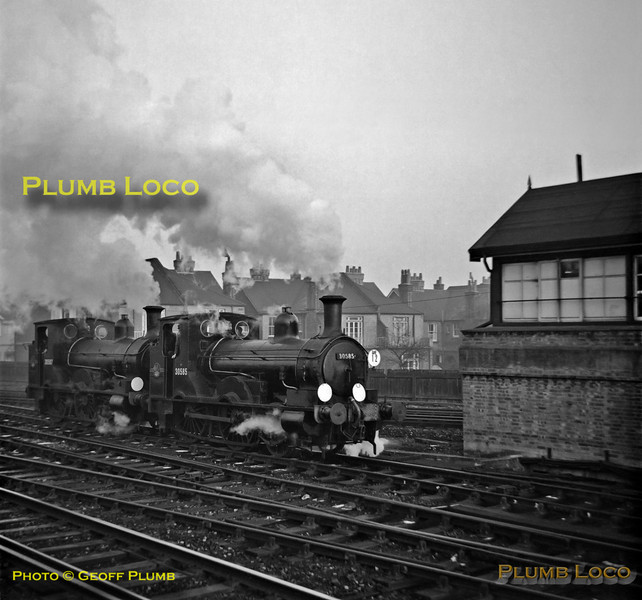 "30585 & 30587, Wimbledon ""C"", 2nd December 1962"