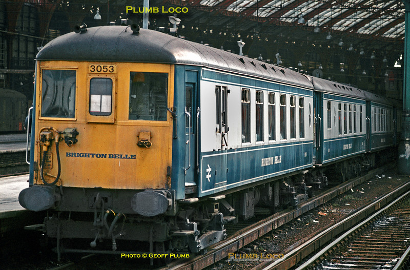 Brighton Belle, Brighton, March 1972