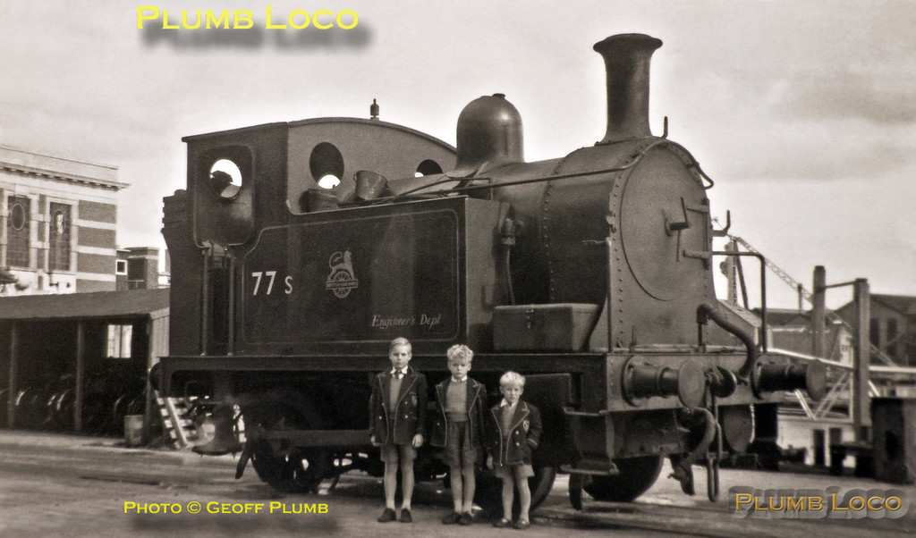 77s, with Geoff, Barry & Keith Plumb, Southampton Town Quay, 14th June 1958