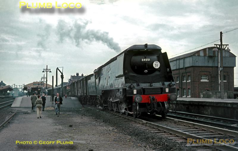 """34051 """"Winston Churchill"""", Basingstoke, 22nd May 1965"""