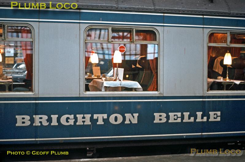 """""""Brighton Belle"""", London Victoria, March 1972"""