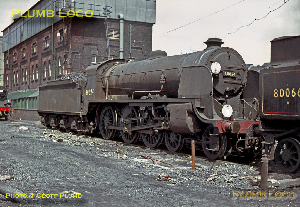 30824, Eastleigh MPD, 9th May 1964