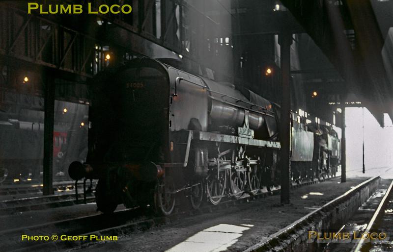 34005, Nine Elms MPD, 3rd July 1966