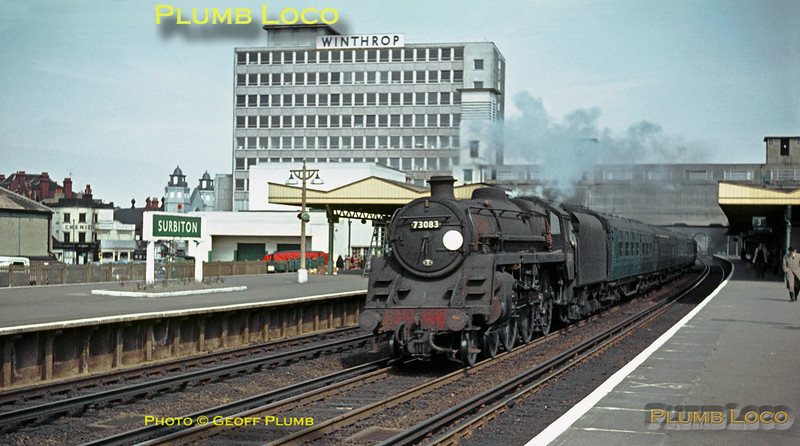 "73083 ""Pendragon"", Surbiton, 8th April 1964"