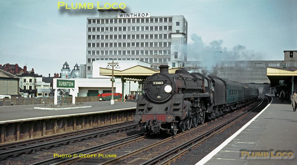 "73083 ""Pendragon"", Surbiton, 8th April 1964"