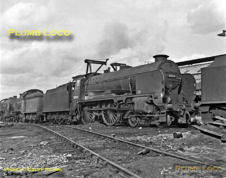 "30930 ""Radley"", Redhill MPD, 1st April 1962"