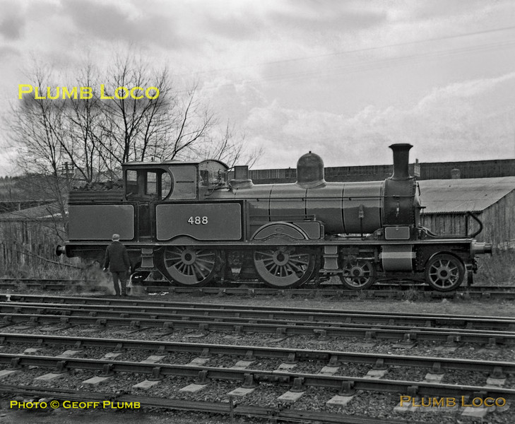 LSWR No. 488, Sheffield Park, 1st April 1962