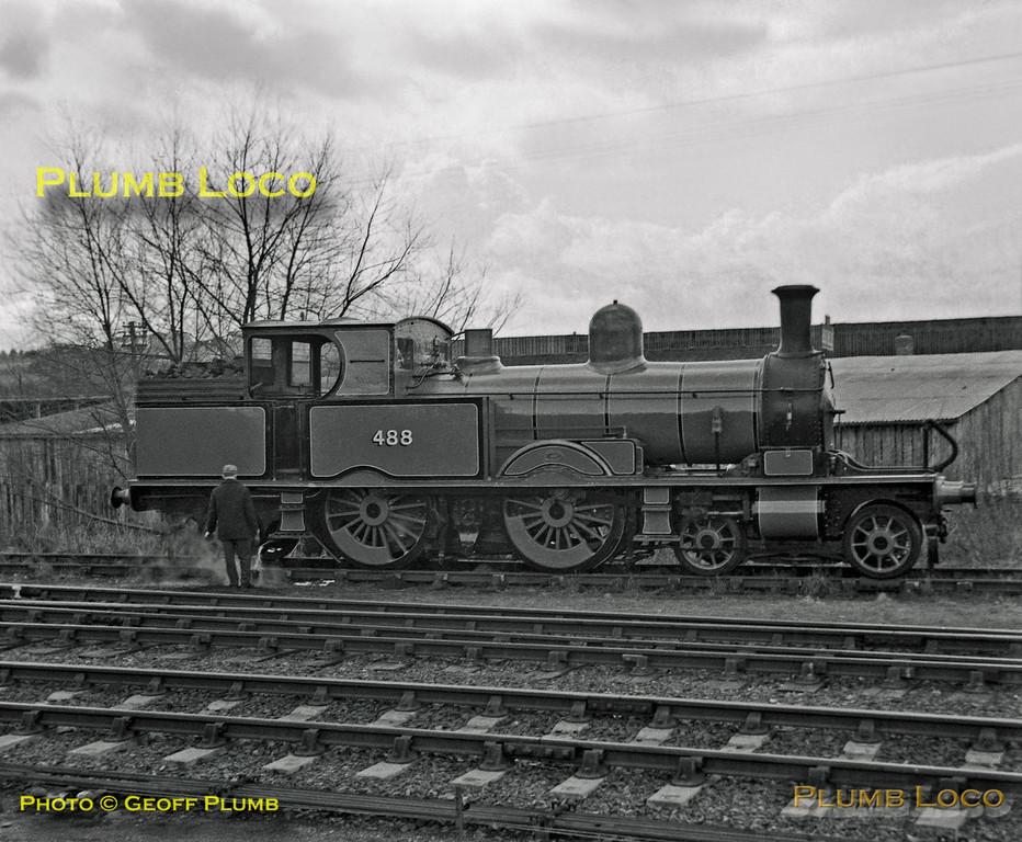 LSWR No. 488, Sheffield Park, 1st April 1962