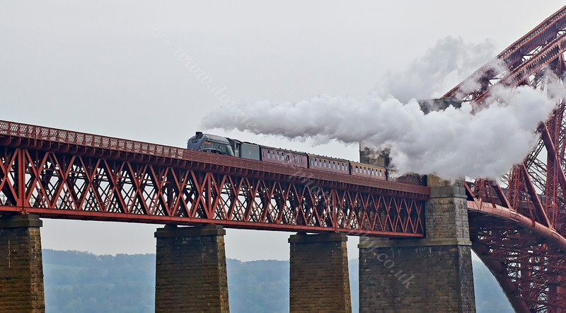 Union of South Africa on the Forth Rail Bridge - 27 April 2014
