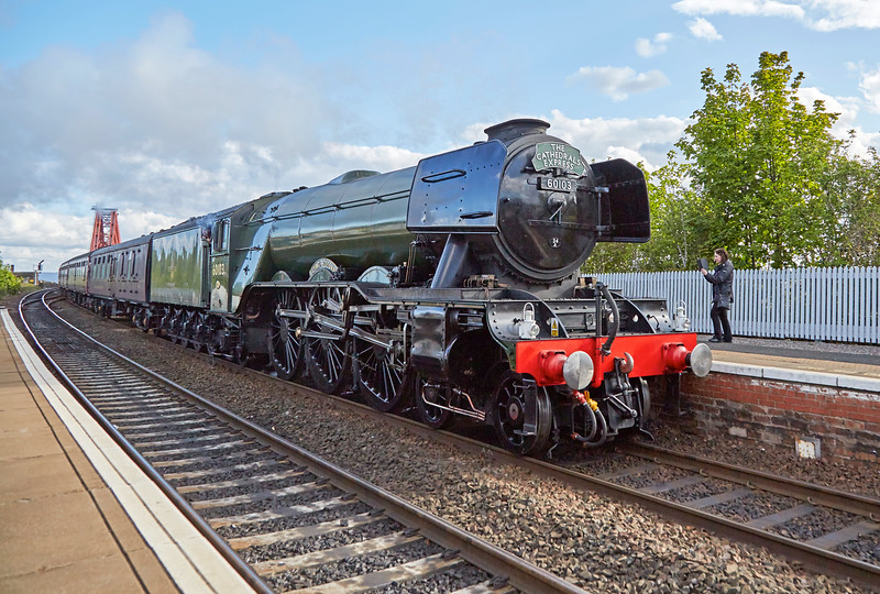 Flying Scotsman (60103) on the Forth Circle - 14 May 2017