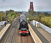 Duchess of Sutherland (46229) on the Forth Circle - 14 September 2014