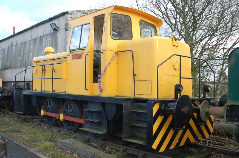 AB 486 Clive - Foxfield Railway - 4 February 2018