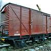 500851 LMS Vent Van Plank - Foxfield Railway
